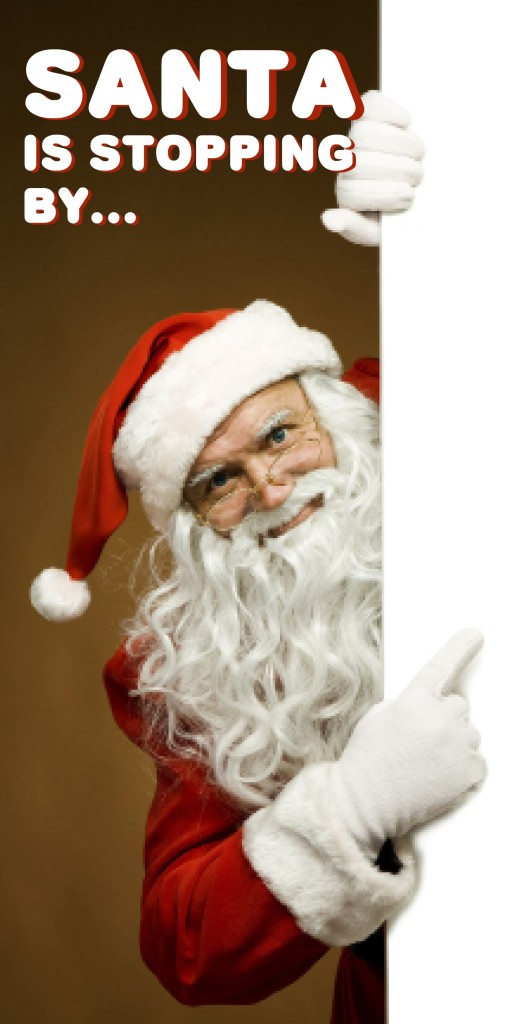 Get your Santa photos at a Consort Community near you!!