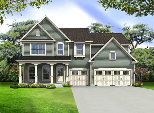 2420 Autumn Blaze Court Wildwood, Missouri 63011 Floorplan Image