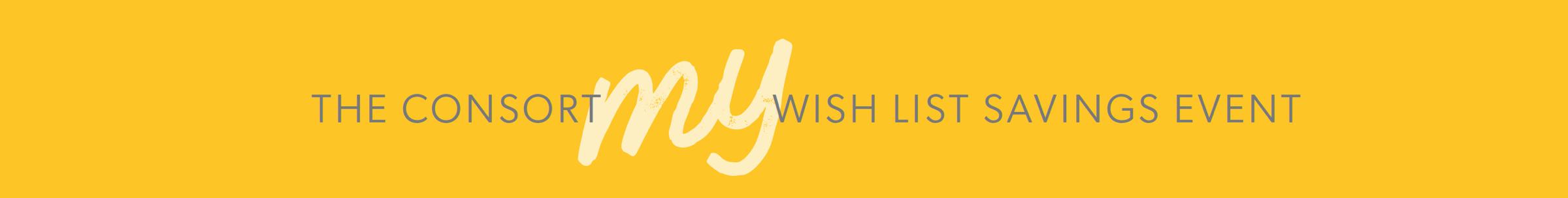 My Wish List Savings Event